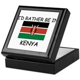 I'd rather be in Kenya Keepsake Box