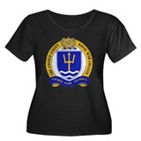 US Naval War College Women's Plus Size Scoop Neck
