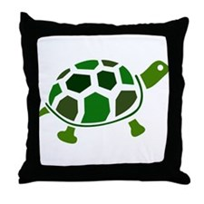 Color Turtle Throw Pillow
