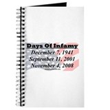 """Days Of Infamy"" Journal"