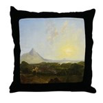 Clew Bay, Co. Mayo Throw Pillow