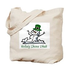 Irish Merry Christmas Tote Bag