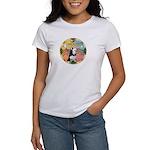 XmasMusic 3/Sib Husky Women's T-Shirt