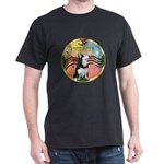 XmasMusic 3/Sib Husky Dark T-Shirt