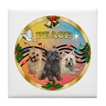 XmasMusic 3/3 Cairns Tile Coaster