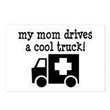 Mom Drives An Ambulance Postcards (Package of 8)
