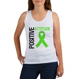 Lymphoma Positive Attitude Women's Tank Top