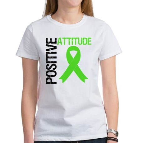 Lymphoma Positive Attitude Women's T-Shirt
