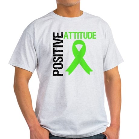 Lymphoma Positive Attitude Light T-Shirt