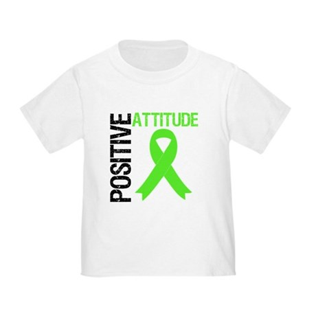 Lymphoma Positive Attitude Toddler T-Shirt