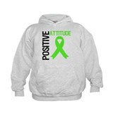 Lymphoma Positive Attitude Hoodie