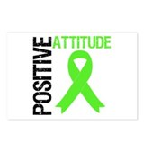 Lymphoma Positive Attitude Postcards (Package of 8