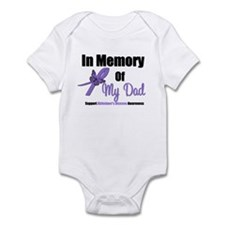 Alzheimer's Memory Dad Infant Bodysuit