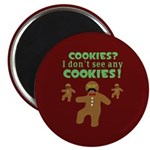 Gingerbread Man Disguise Magnet