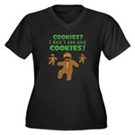 Gingerbread Man Disguise Women's Plus Size V-Neck