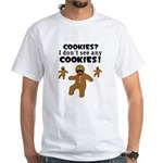 Gingerbread Man Disguise White T-Shirt