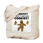 Gingerbread Man Disguise Tote Bag