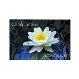 Calmly active...Magnet (10 pack)