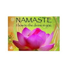 Namaste-Rectangle Magnet