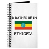 I'd rather be in Ethiopia Journal