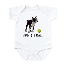 Boston Terrier Life Infant Bodysuit