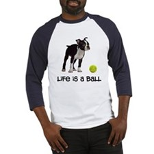Boston Terrier Life Baseball Jersey