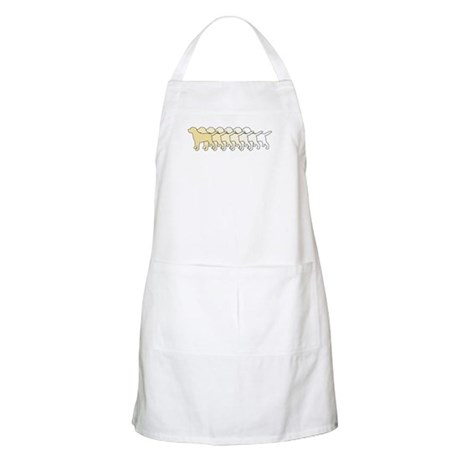 Yellow Gradient Labs BBQ Apron