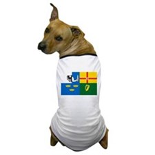 """The Four Provinces Flag"" Dog T-Shirt"