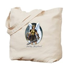 Saint Michael Tote Bag