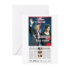 EP Times Front Page Greeting Cards (Pk of 10)