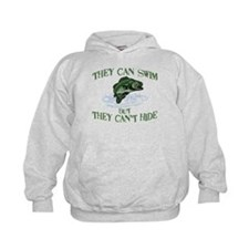 THEY CAN SWIM BUT CAN'T HIDE Hoodie