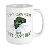 THEY CAN SWIM BUT CAN'T HIDE Coffee Mug