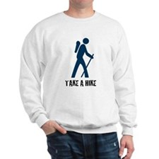 Take A Hike Blue Sweatshirt
