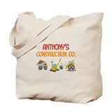 Anthony's Construction Tracto Tote Bag