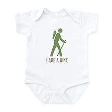 Take a Hike Green Infant Bodysuit