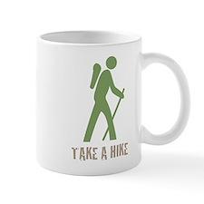 Take a Hike Green Mug
