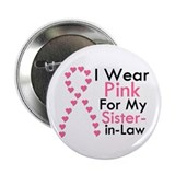 "I Wear Pink 2.25"" Button"