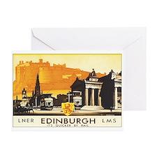 Edinburgh Scotland Greeting Cards (Pk of 20)