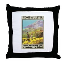 Ulster Ireland Throw Pillow