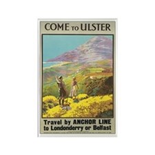 Ulster Ireland Rectangle Magnet