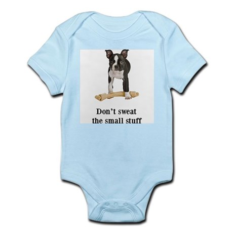 Boston Terrier Stuff Infant Bodysuit