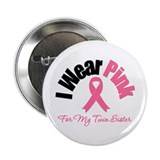 I Wear Pink 2.25&quot; Button (10 pack)