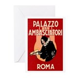 Rome Roma Italy Greeting Cards (Pk of 10)