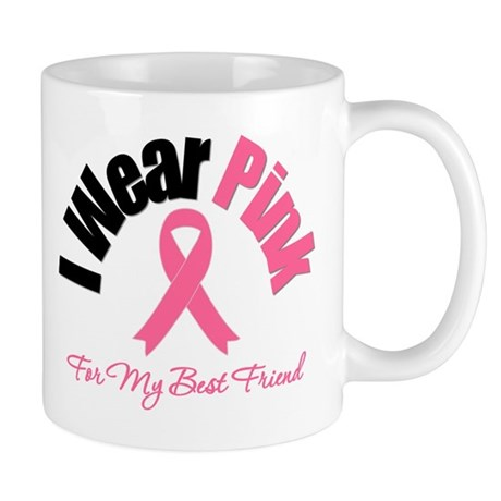 I Wear Pink Best Friend Mug