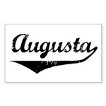 Augusta Rectangle Sticker