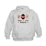 Peace Love Mahjong Hoodie