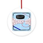 Hockey Dad Keepsake (Round)