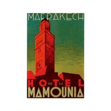 Marrakech Morocco Rectangle Magnet (100 pack)