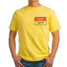 Hello, My name is YaYa T