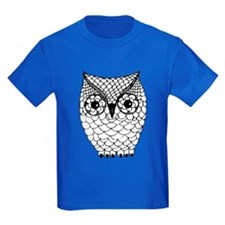 Black and White Owl 2 T